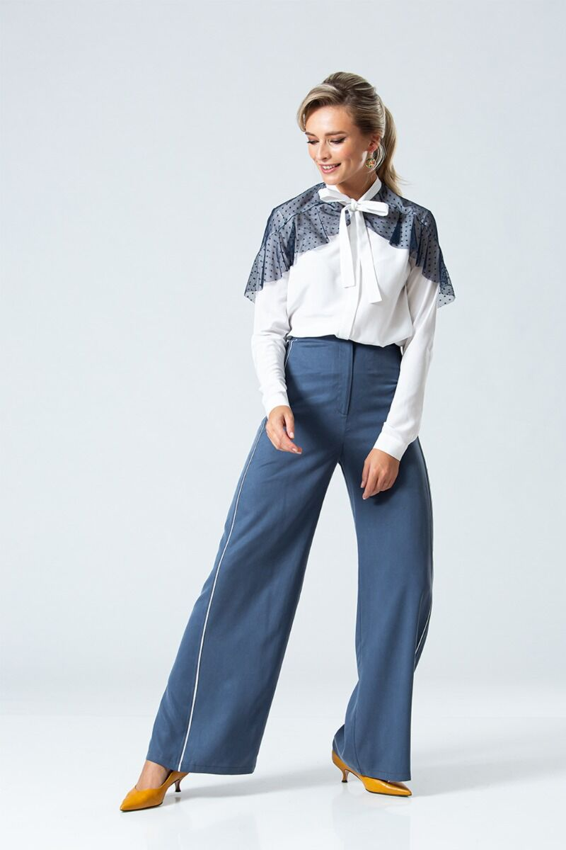 Pantaloni eleganti PREMIUM evazati DP067