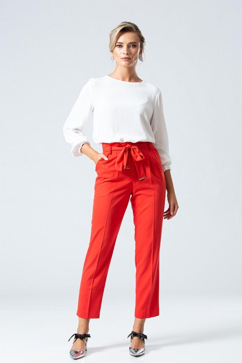 Pantaloni eleganti PREMIUM cu plii DP090R