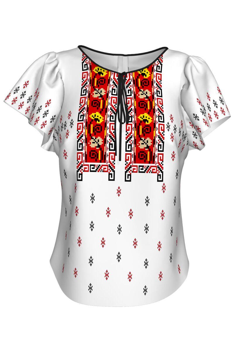 Bluză imprimată Transilvania A842MS7