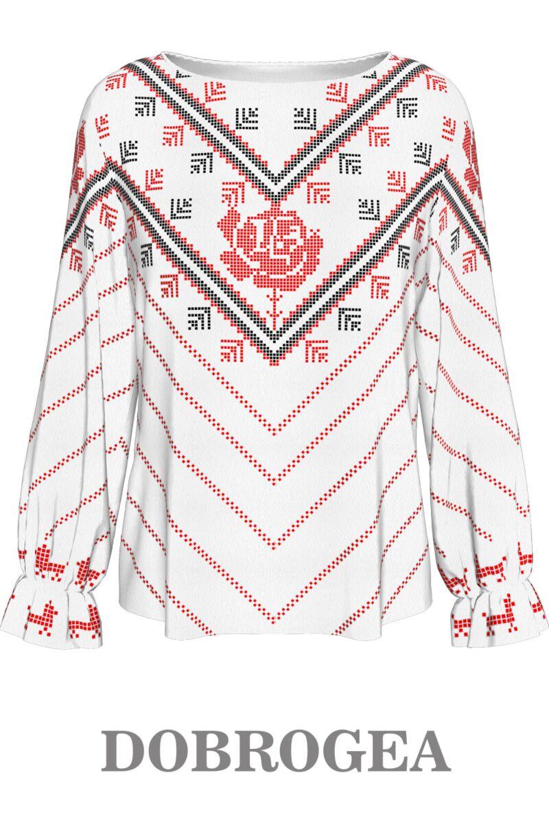 Bluză imprimată Dobrogea1,A842D1