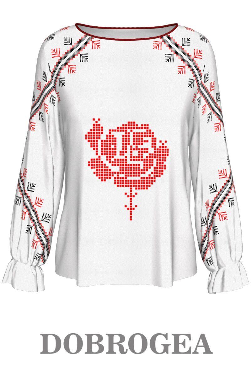 Bluză imprimată Dobrogea2  ,A842D2