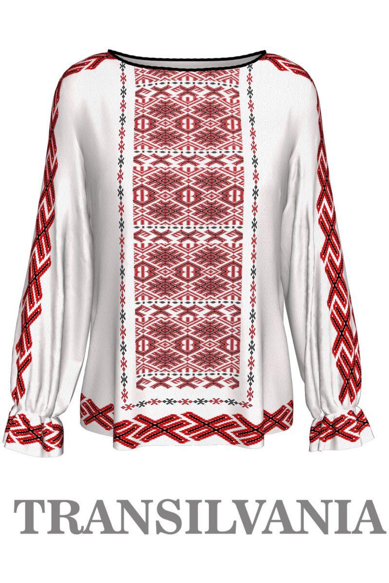 Bluză imprimatăTransilvania1,A842T1