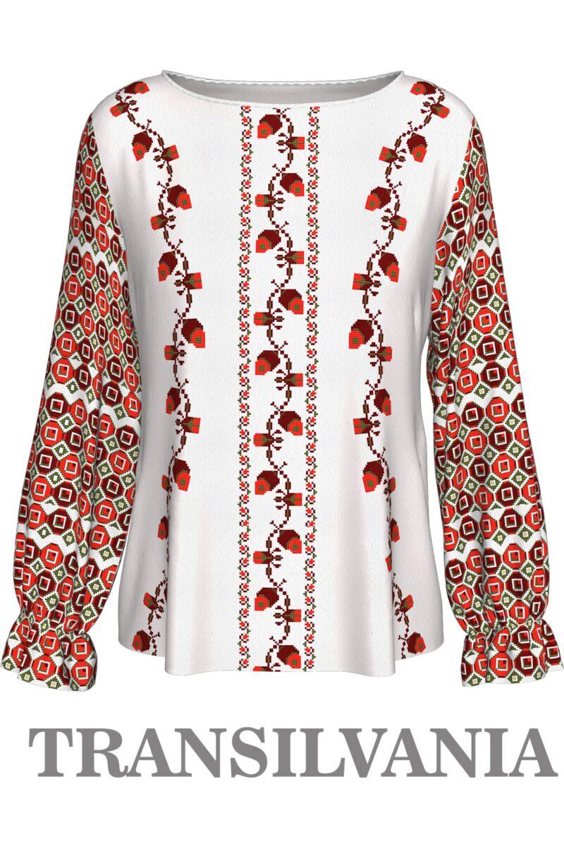Bluză imprimată Transilvania2,A842T2