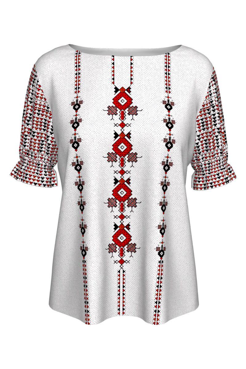 Bluză imprimată Dobrogea A842MC18