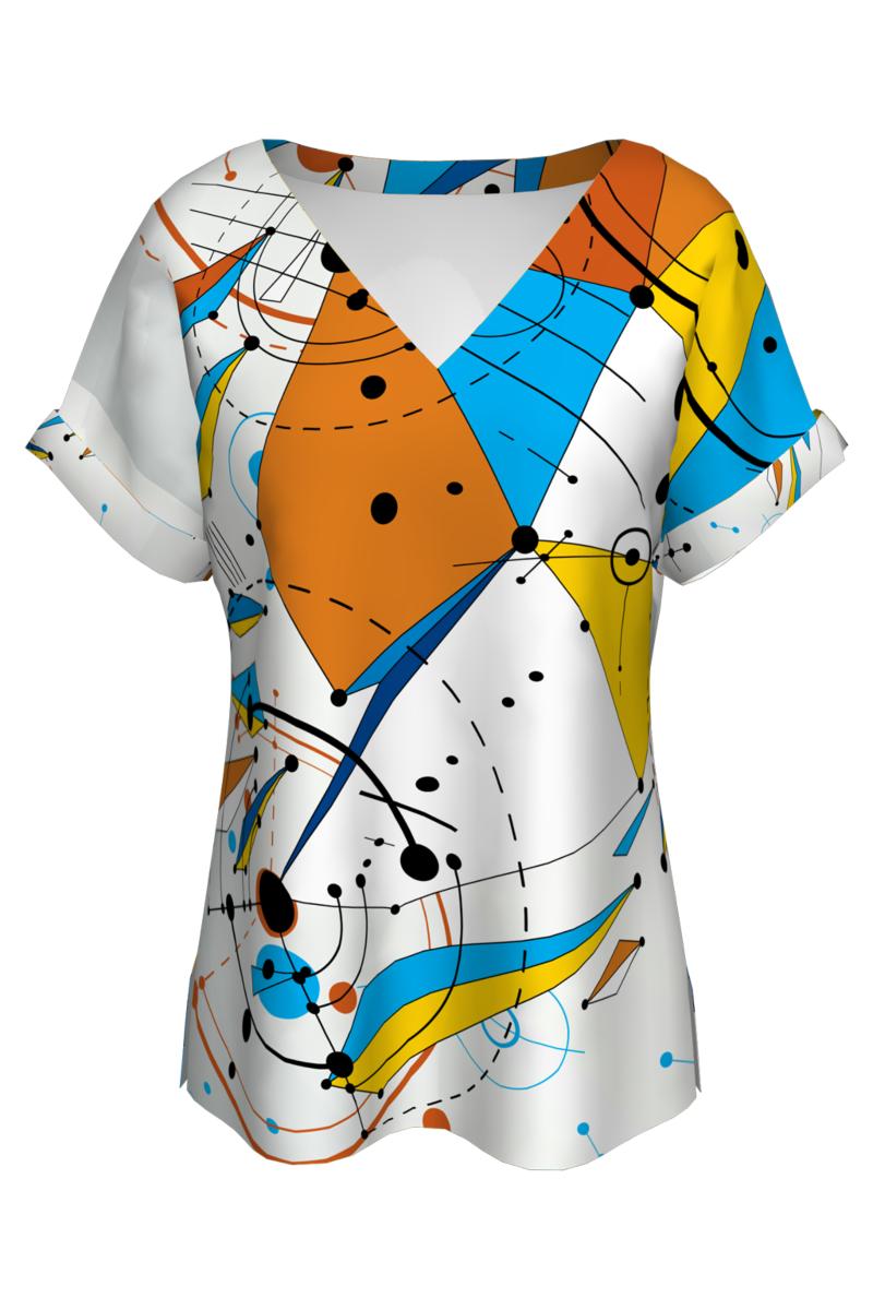 Bluză imprimata Colors CMDB7