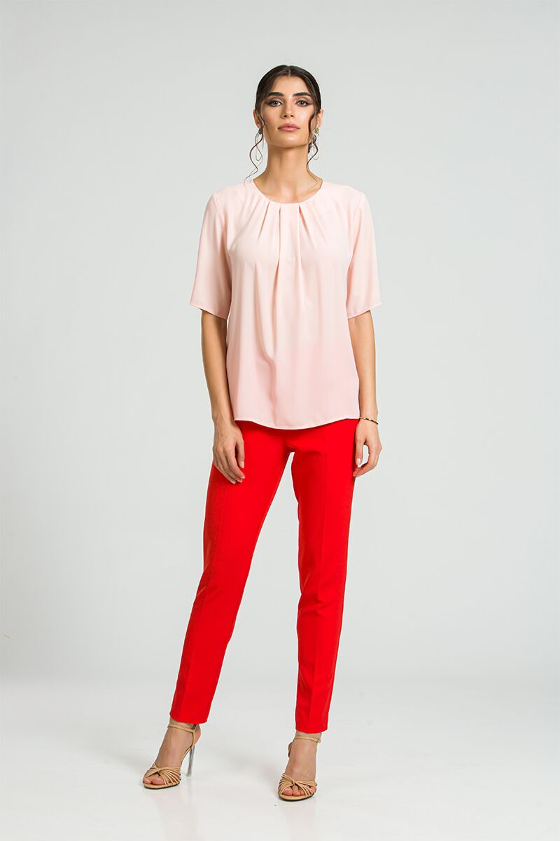 Bluza eleganta cu plii DM175