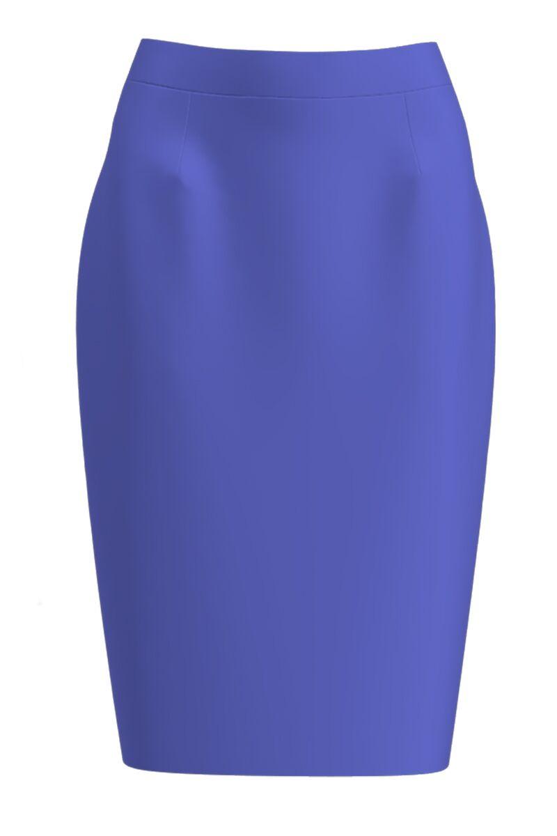 Fusta conica imprimata violet CMD1205