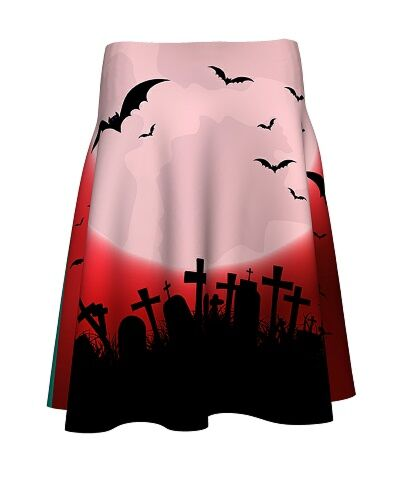 Fusta imprimata digital Bats Night A817H41