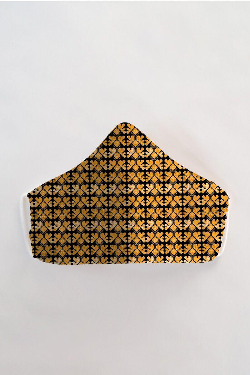 Masca fața reutilizabila imprimata din material textil MSC71