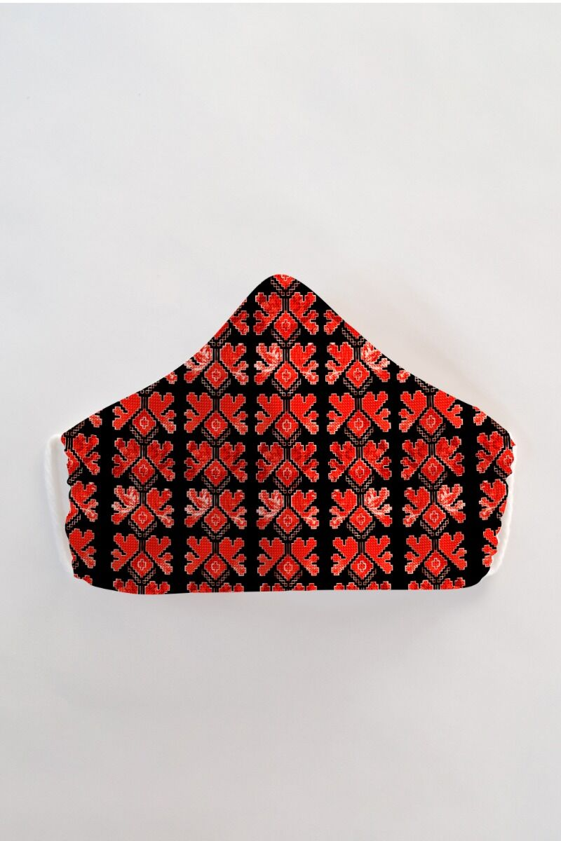 Masca fața reutilizabila imprimata din material textil MSC72