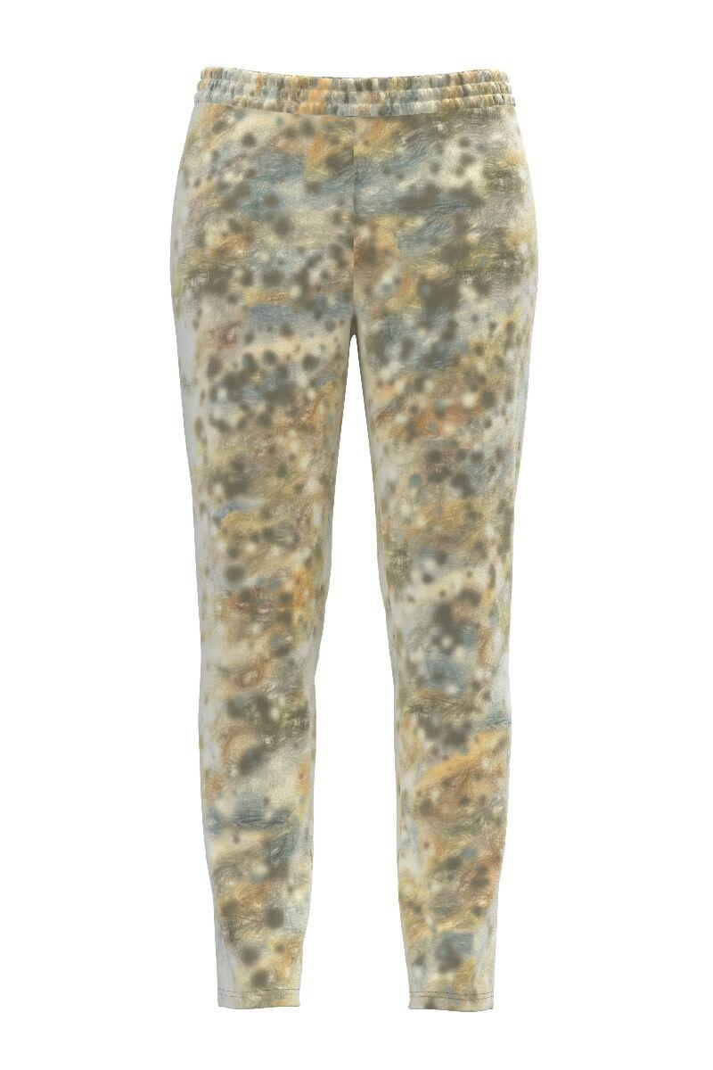 pantaloni DAMES din catifea in degrade cu buzunare