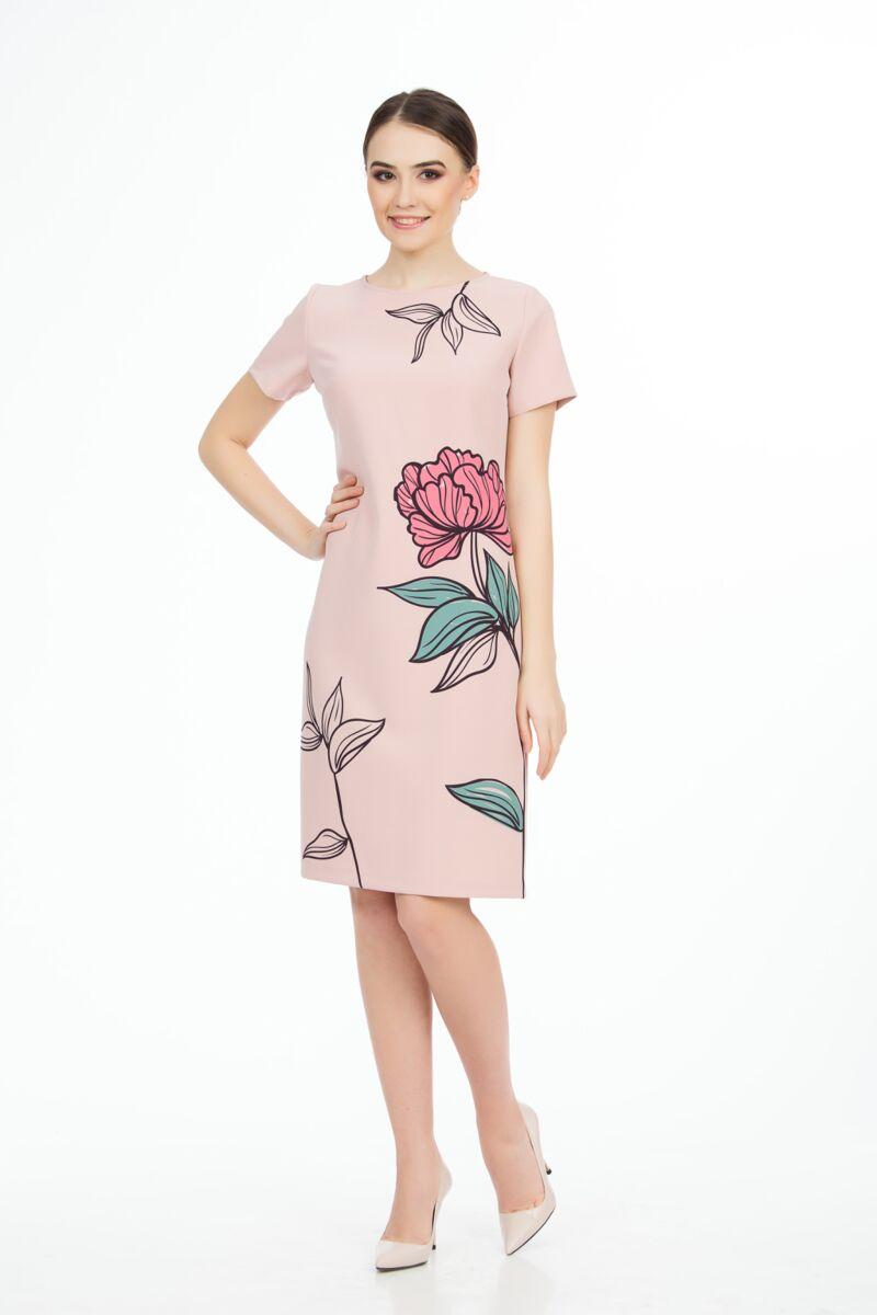 Rochie DAMES imprimata cu model floral