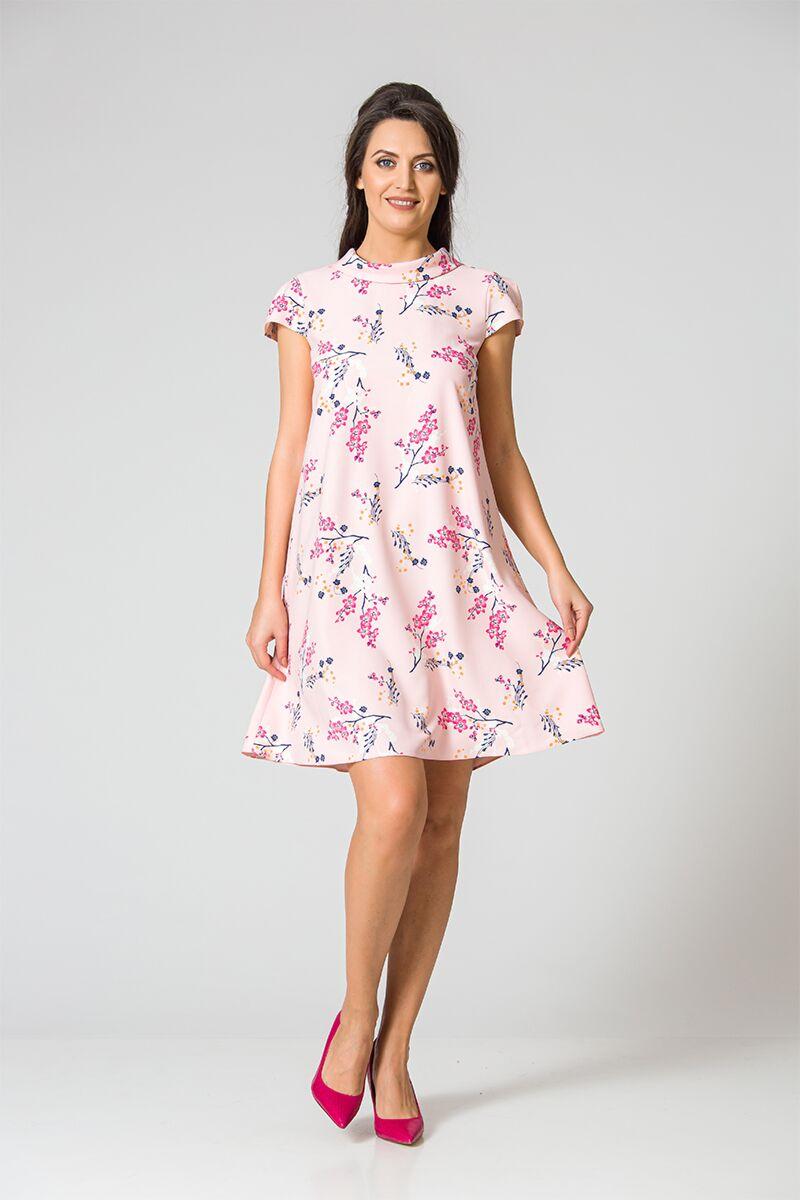Rochie eleganta cu imprimeu floral DM127