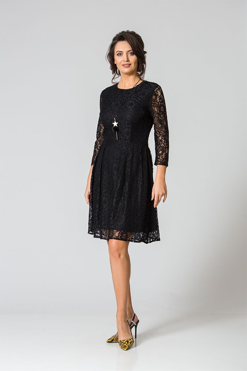 Rochie DAMES eleganta din dantela neagra