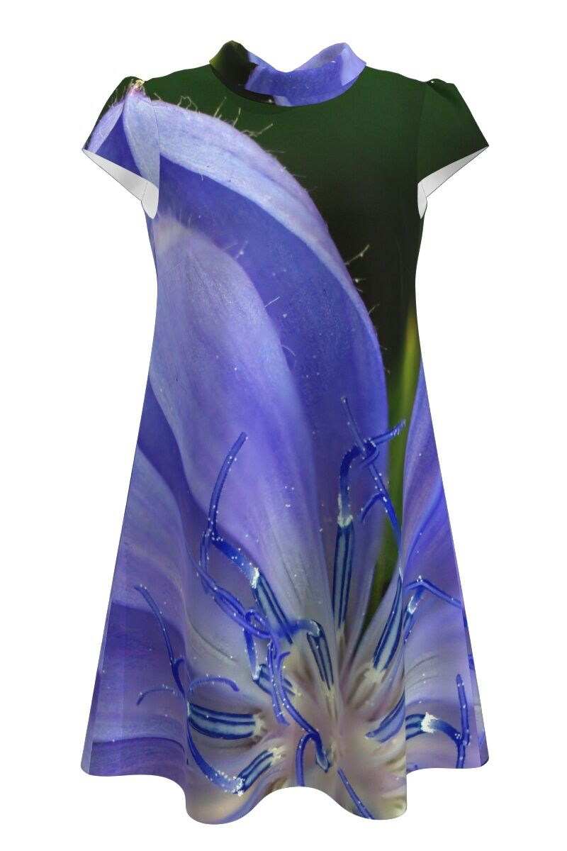 Rochie  casual imprimeu digital floral CMD113