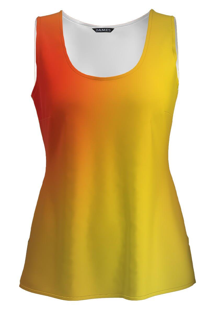 Top casual imprimat multicolor CMD1410