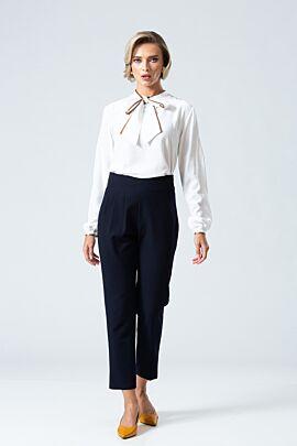 pantaloni DAMES bleumarin casual