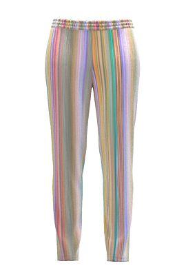 Pantaloni DAMES multicolori din catifea cu buzunare