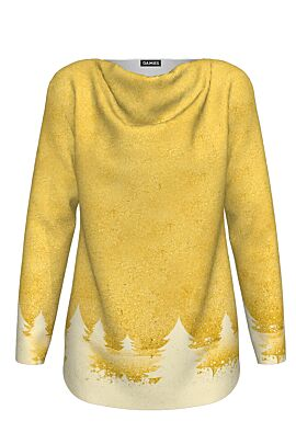pulover DAMES imprimat cu motive de Craciun brazi